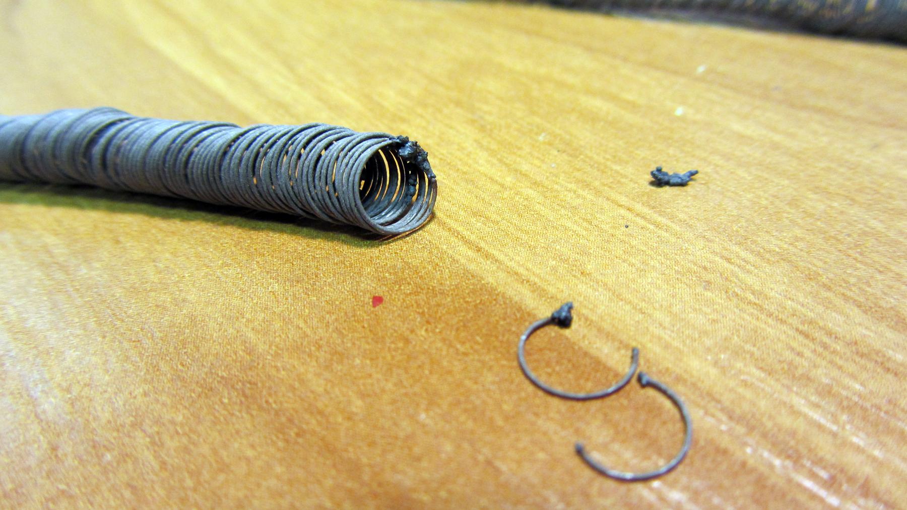 Ремонт нихромовой спирали своими руками 16