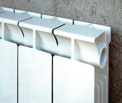 Современный алюминиевый радиатор водяного отопления