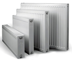 Современные панельные радиаторы водяного отопления