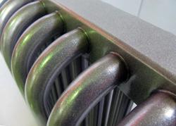 Фрагмент трубчатого радиатора водяного отопления